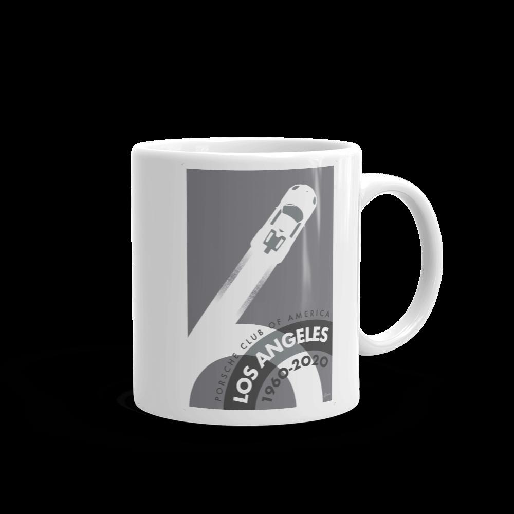 Porsche Club LA 60th Anniv. Limited Edition Mug, 2010s Edition