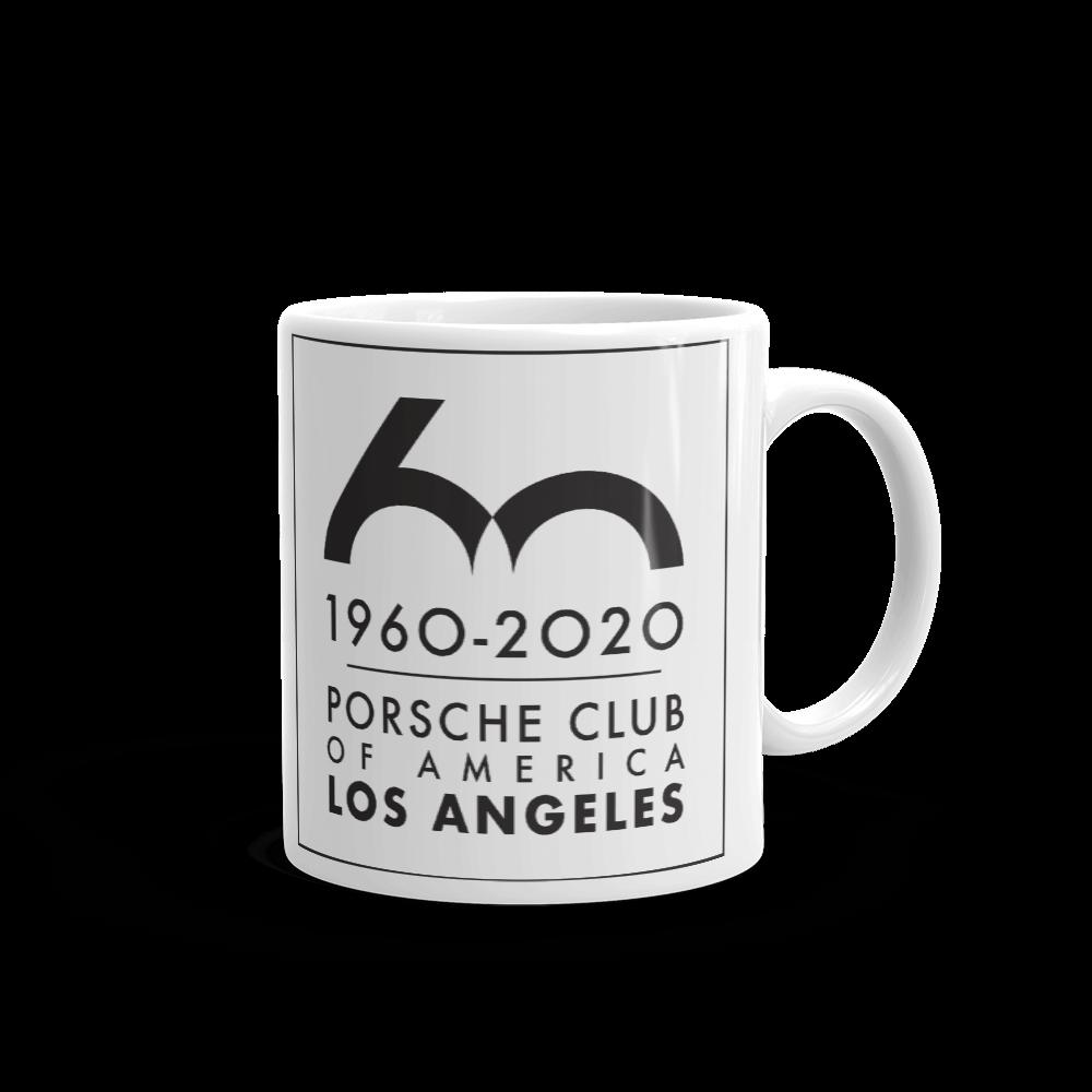 Porsche Club LA 60th Anniv. Limited Edition Mug, Limited Edition 60