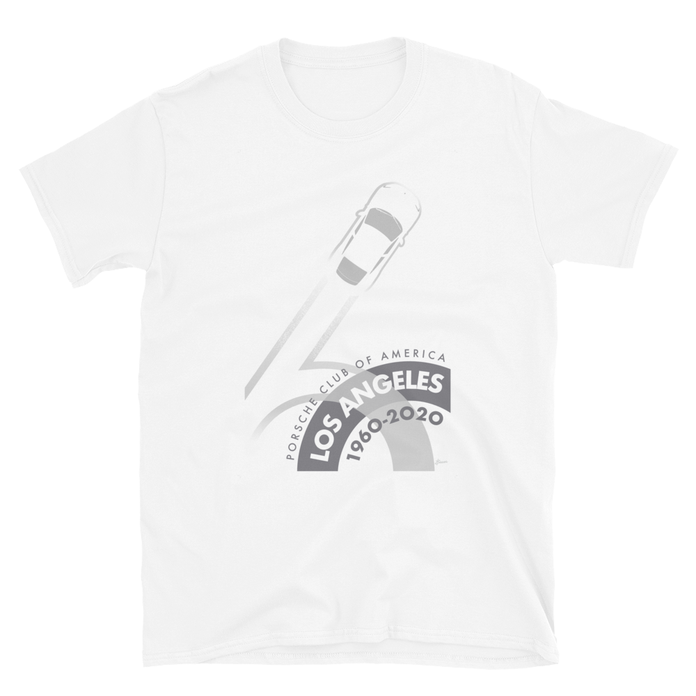 Porsche Club LA 60th Anniv. Limited Edition Short-Sleeve Unisex T-Shirt 2020s