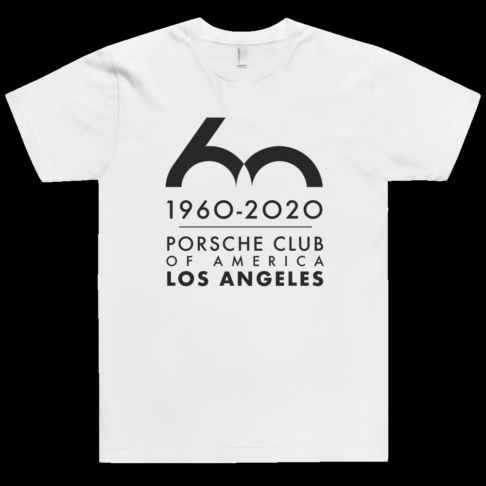 Porsche Club LA 60th Anniv. Limited Edition T-Shirt