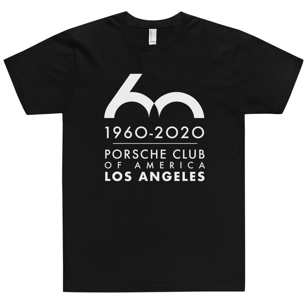 Porsche Club LA 60th Anniv. Limited Edition T-Shirt