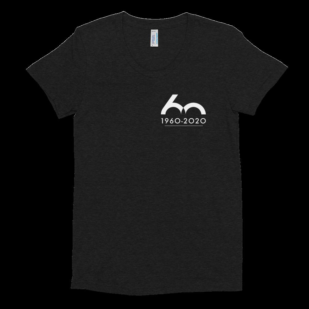 Porsche Club LA 60th Anniv. Limited Edition 60 Years Women's Crew Neck T-Shirt