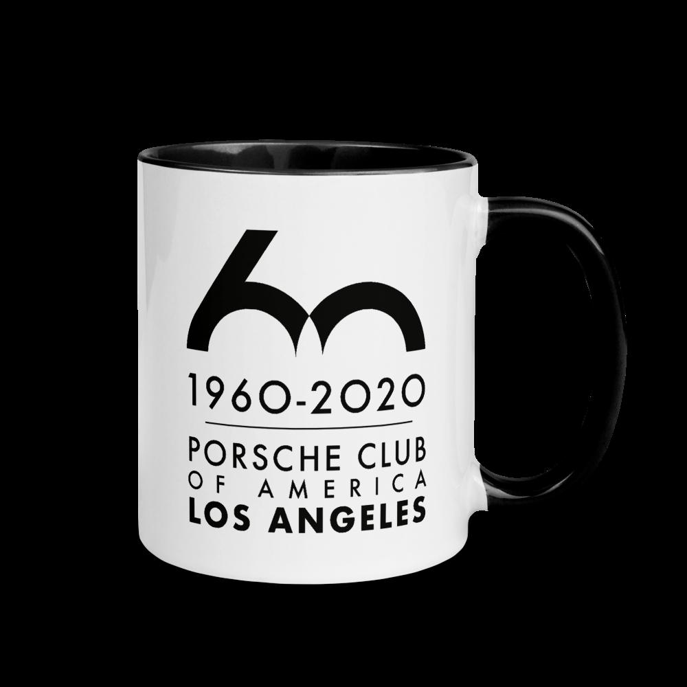 Porsche Club LA 60th Anniv. Limited Edition Mug with Color Inside