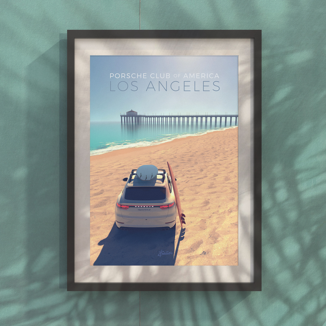 PCALA Beach Poster - Limited Edition