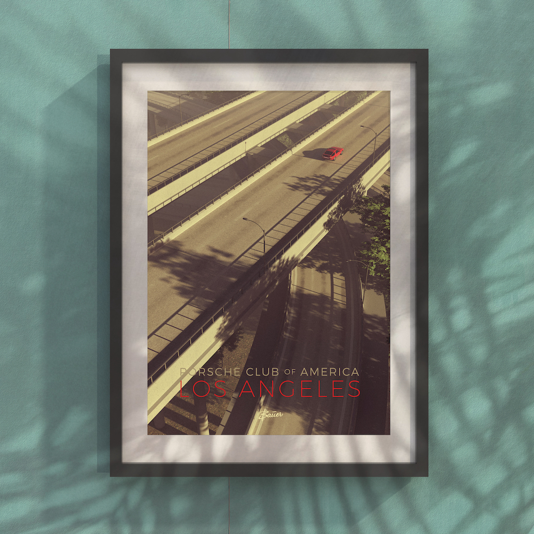 PCALA Overpass Poster - Limited Edition
