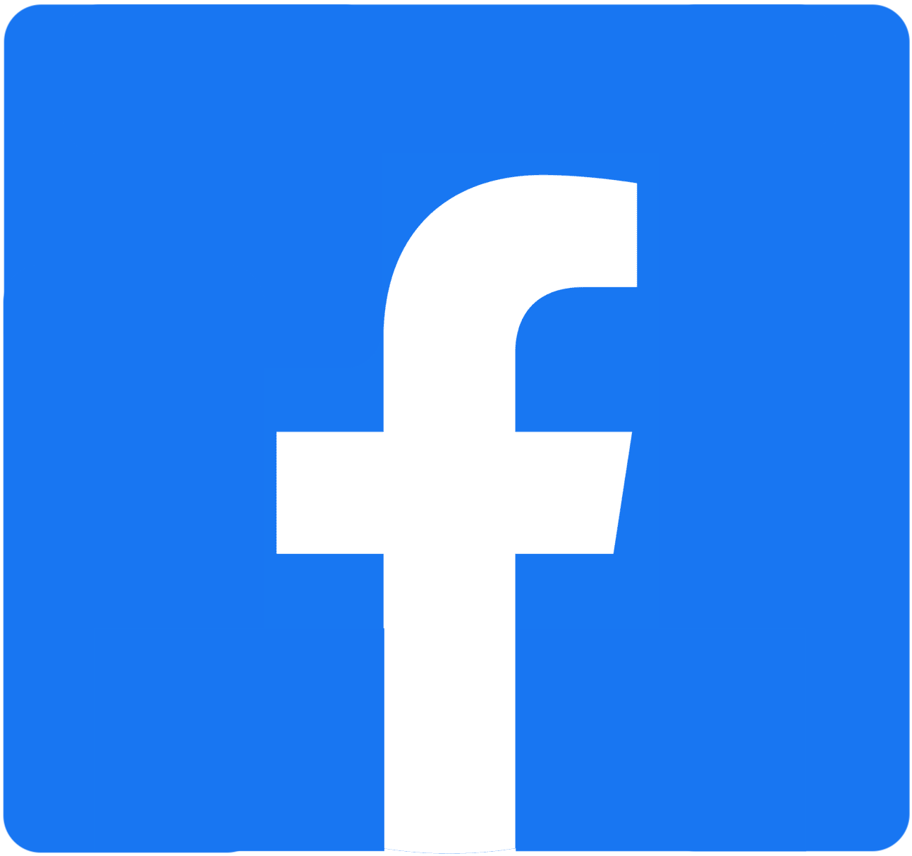Button that redirects to Upstreet's Facebook page