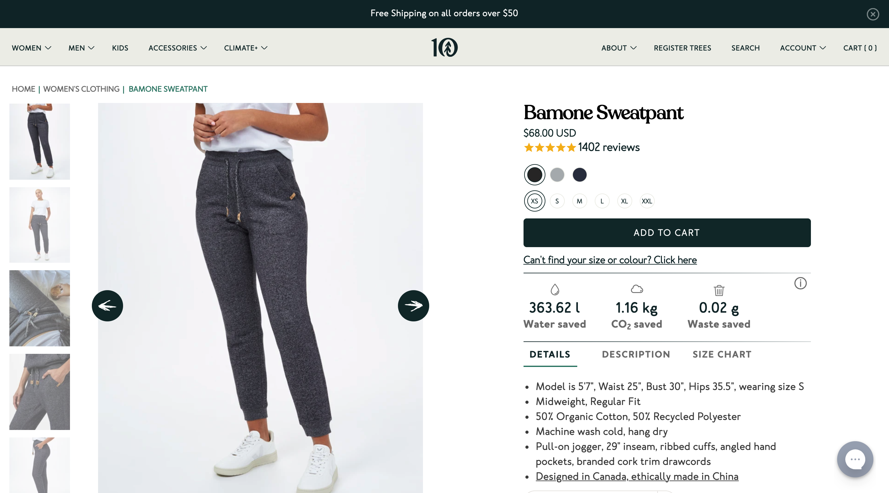 product details ecommerce