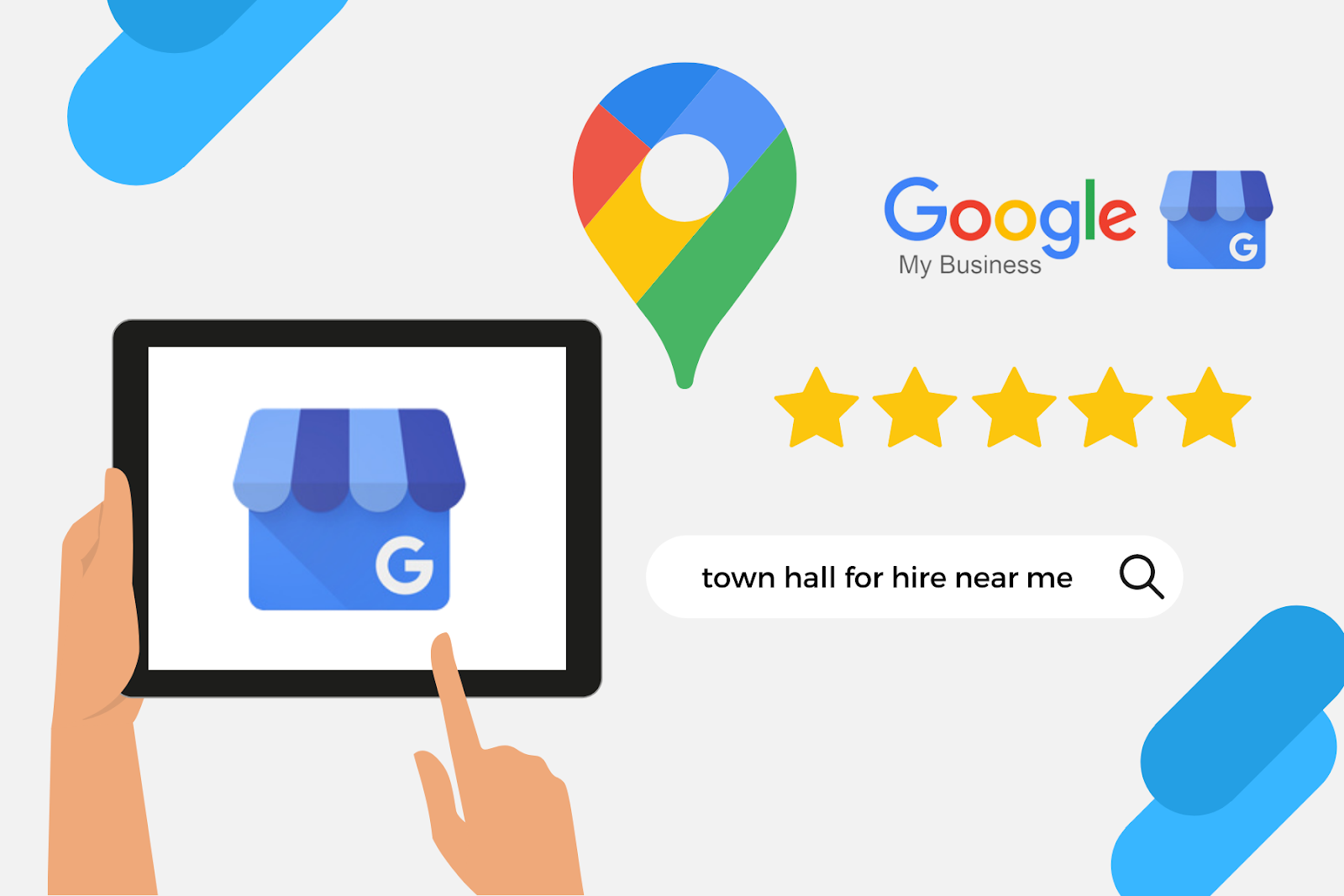 google my business for town or village council