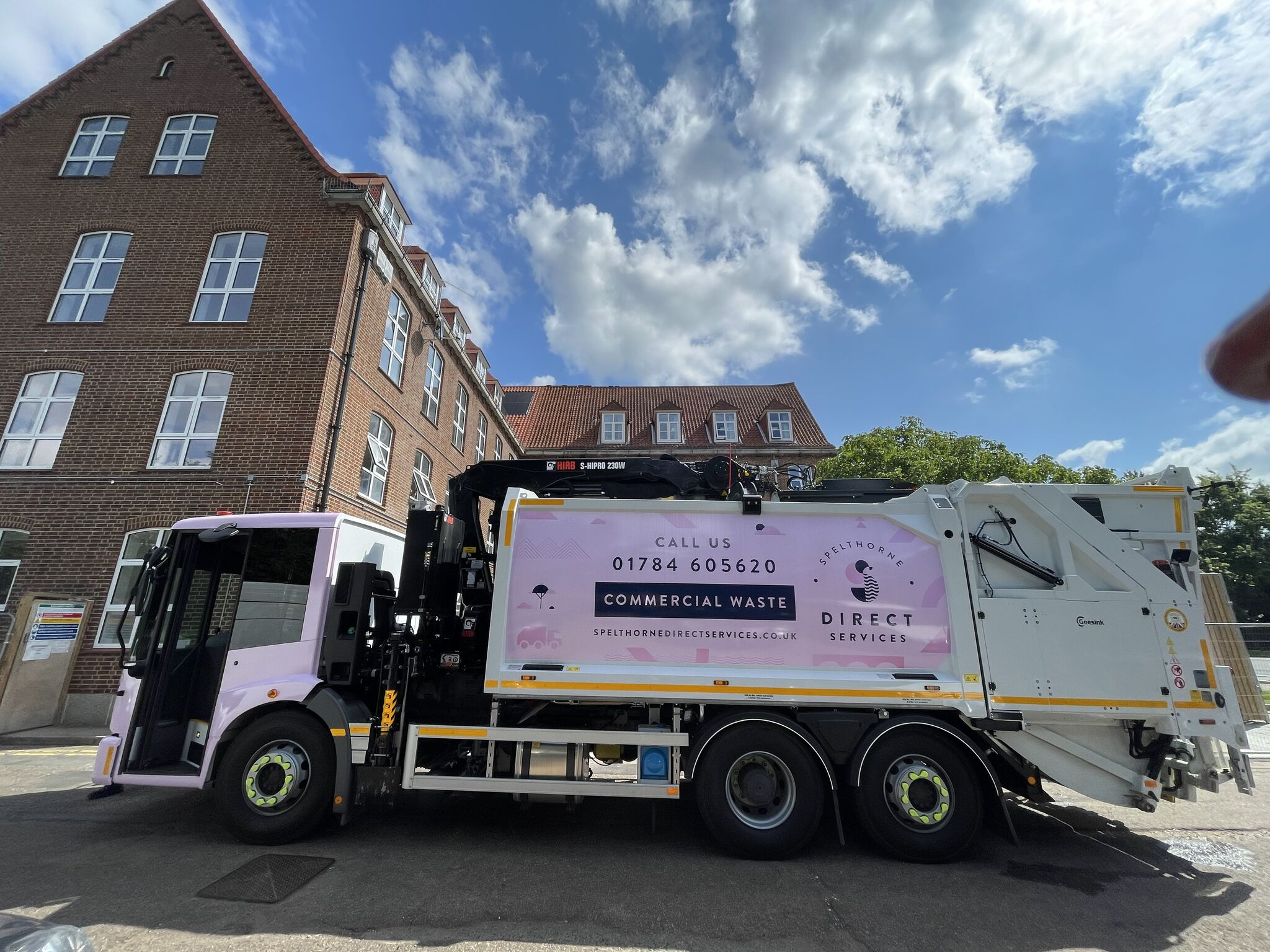 New Commercial Waste Collection Vehicle