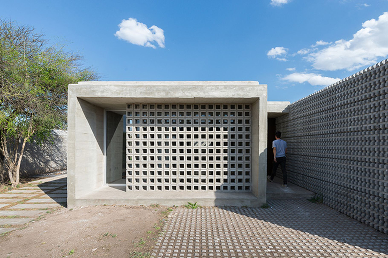 Concrete Homes by Agustin Lozada