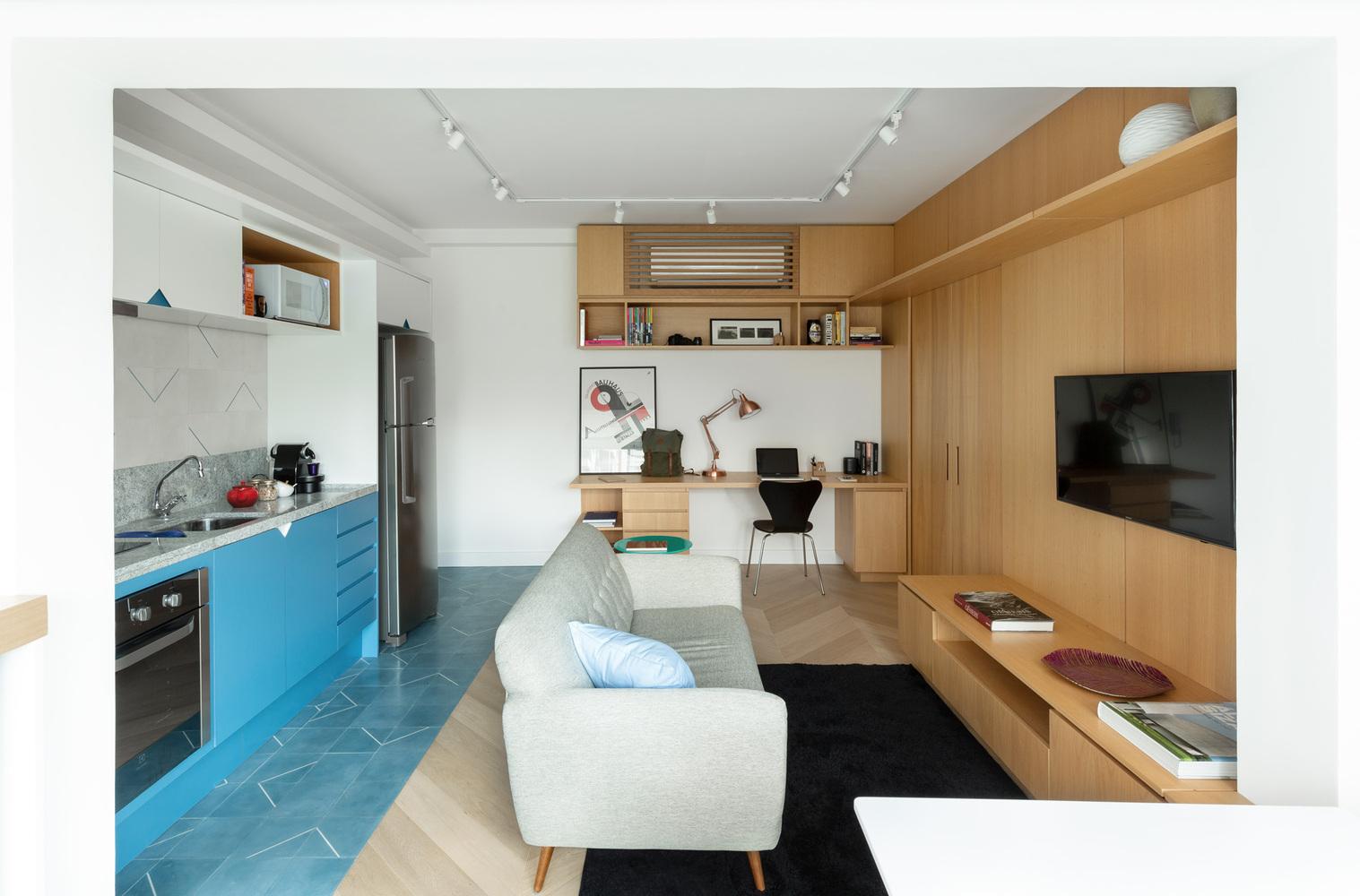 Apartamento Três by Fábrica Arquitetos
