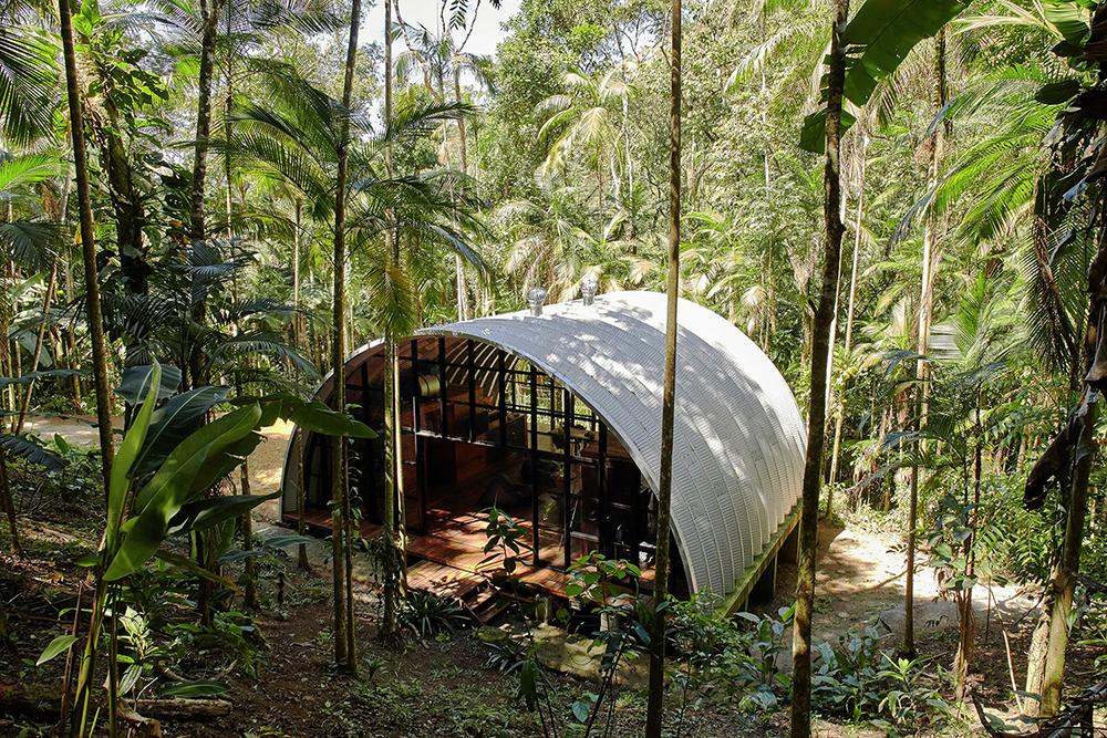 Brazilian Home Uses Galvalume Module
