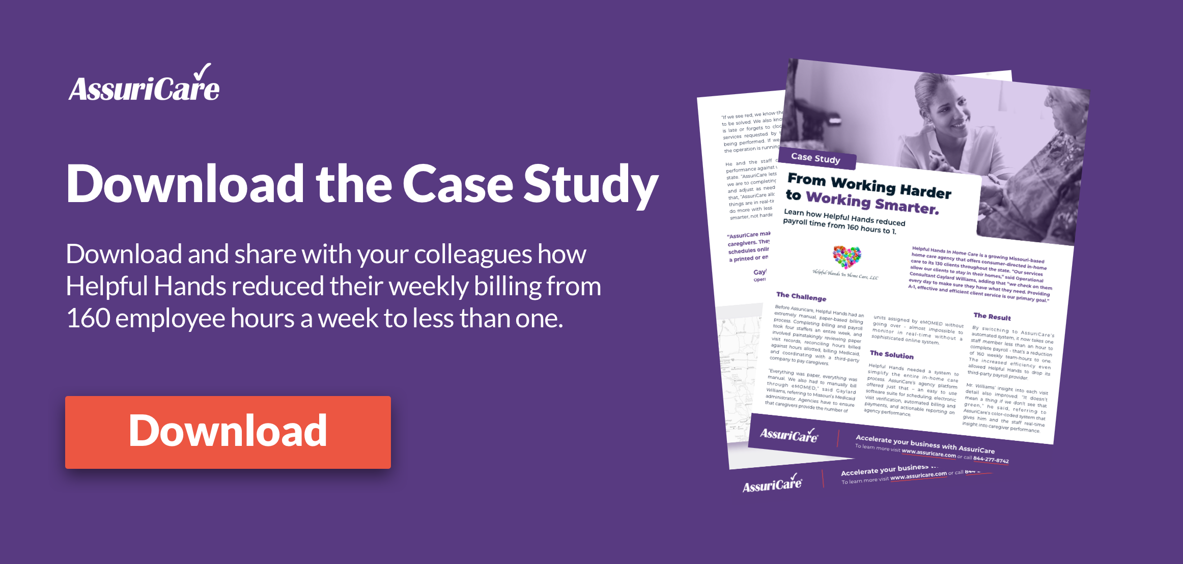 AssuriCare Case Study - Helpful Hands Home Care Agency.