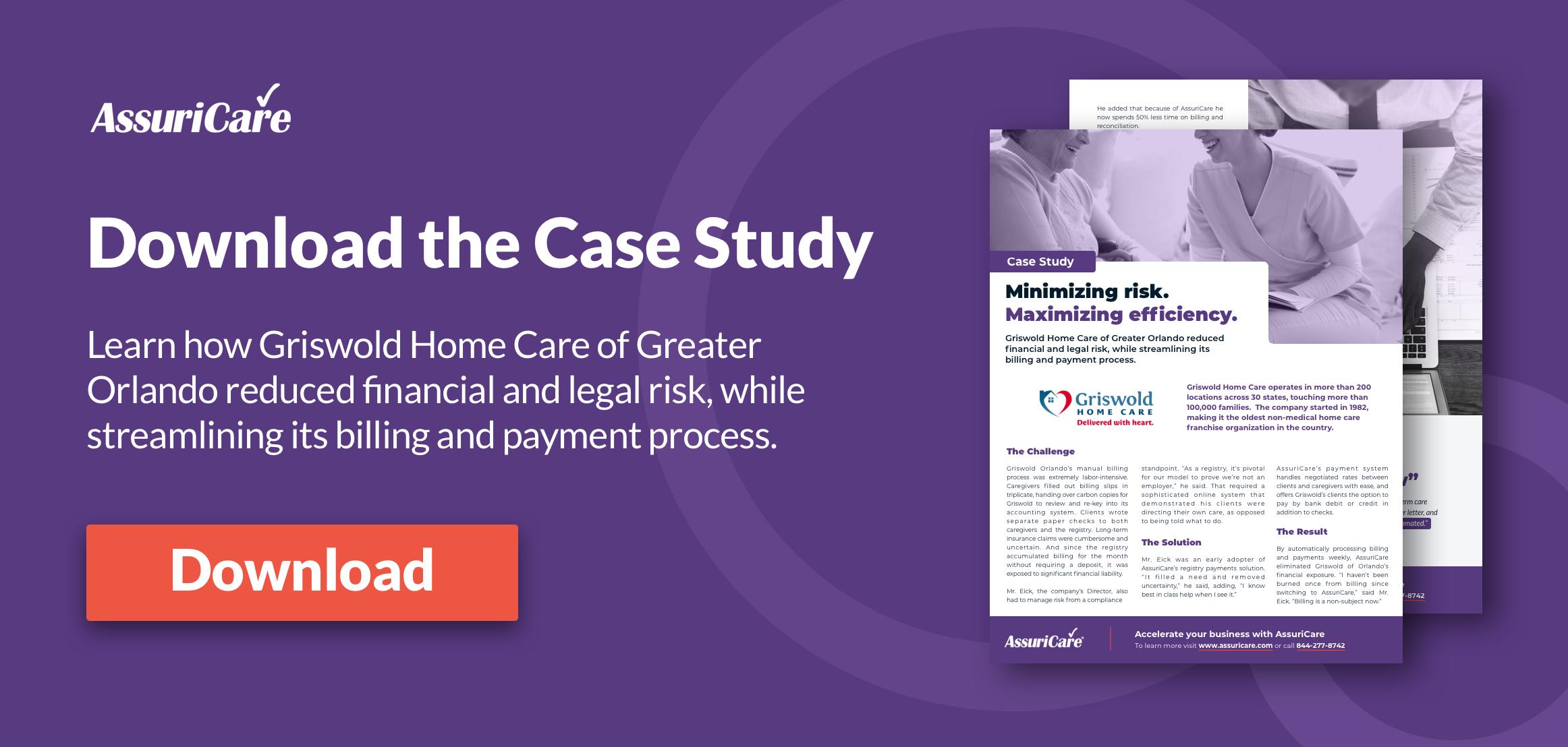 AssuriCare Case Study - Griswold Home Care of Orlando