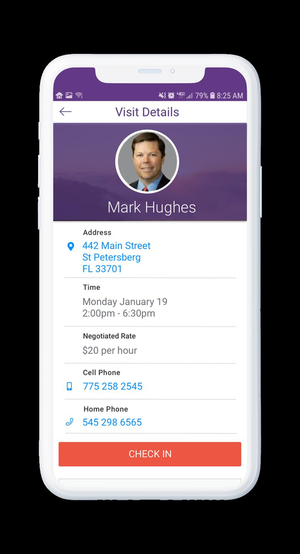 AssuriCare Mobile App - Client Profile