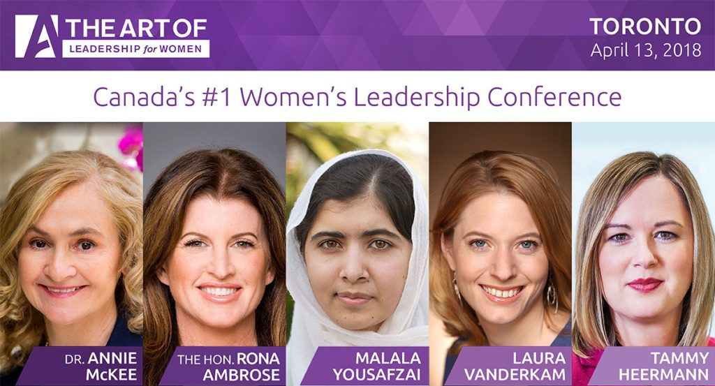The Art of Leadership for women conference speakers 2018