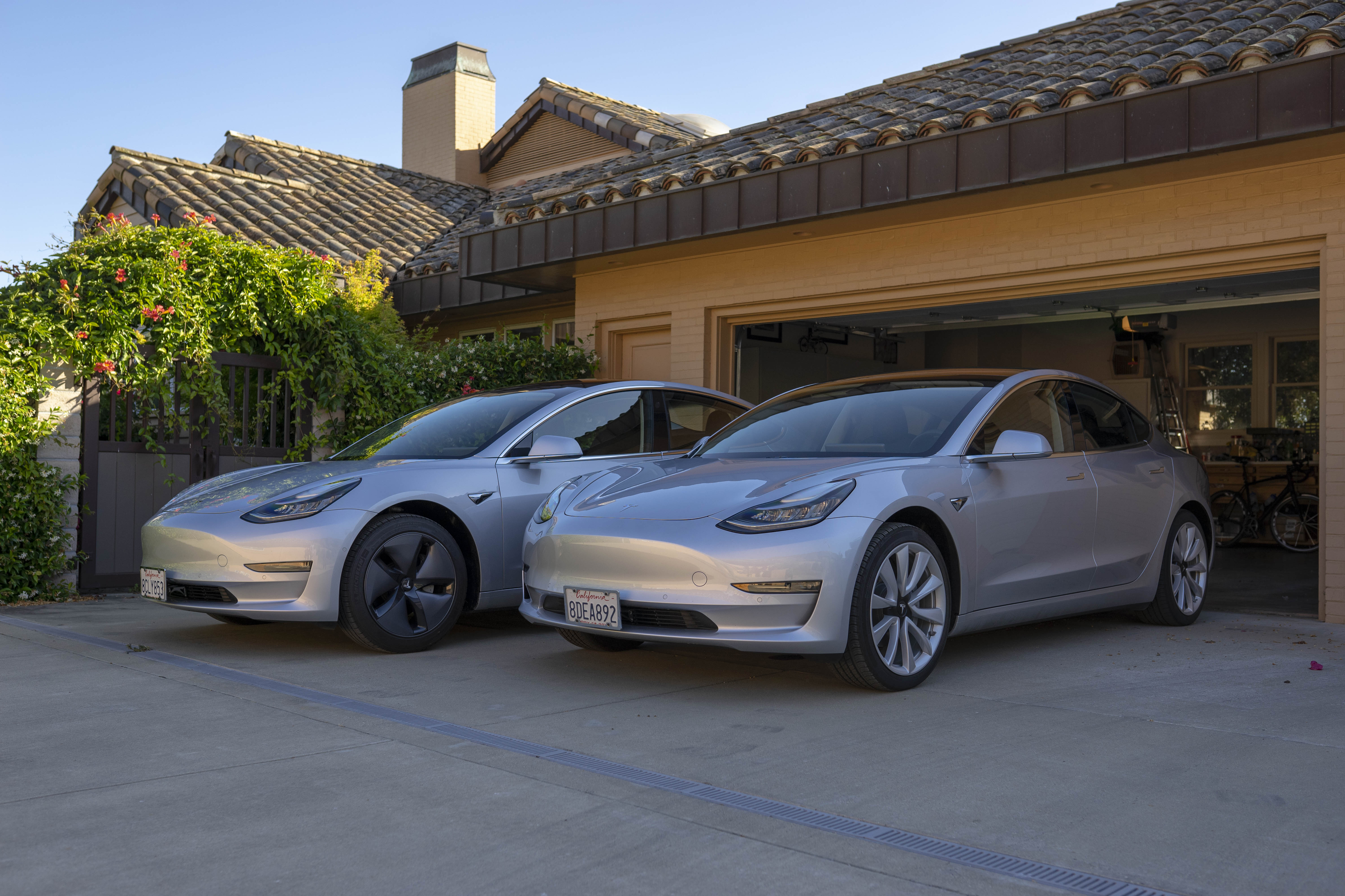 Charging Two Teslas At Home With Your Mobile Connectors