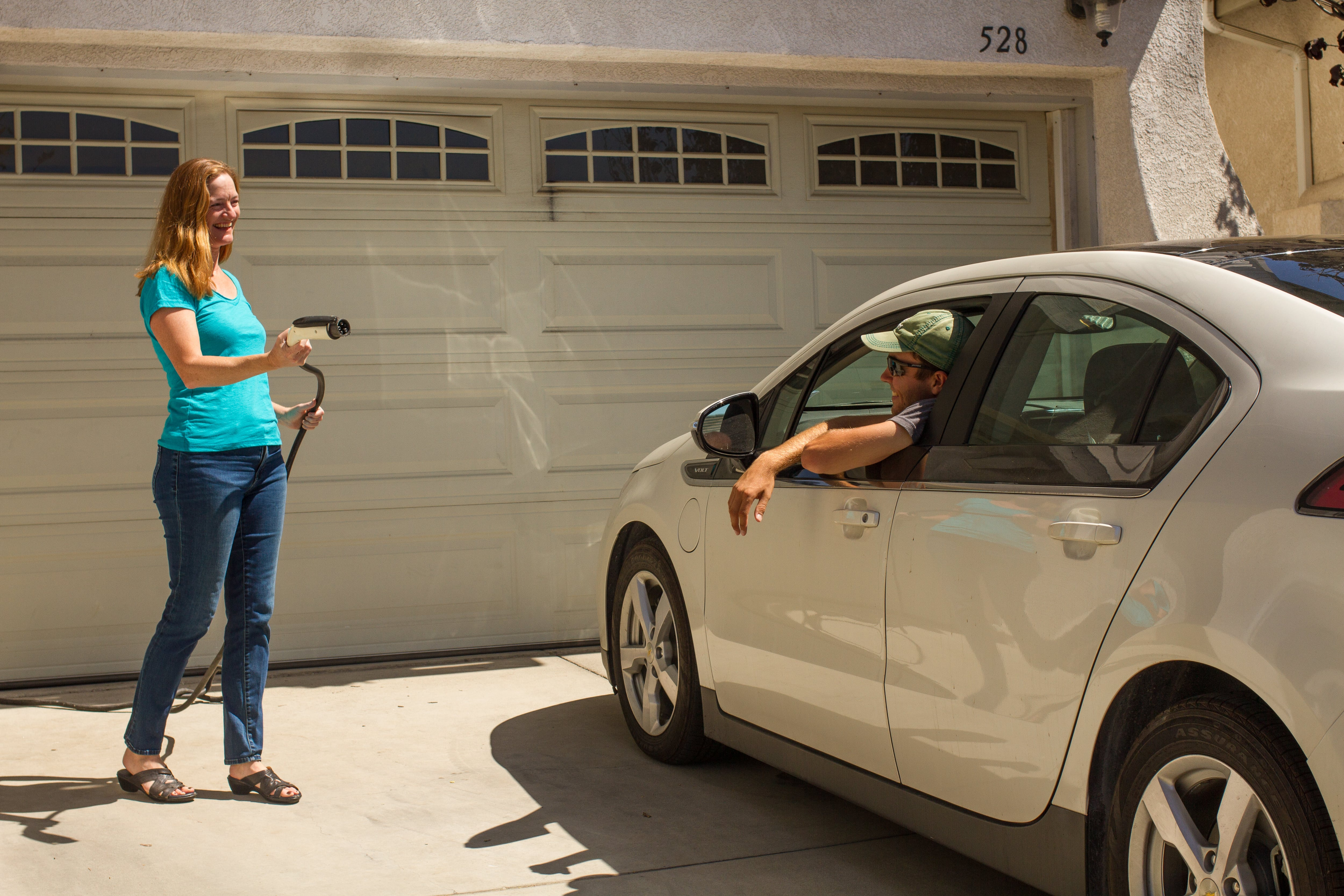 Residential host in Santa Barbara sharing their home electric vehicle charger with an EVmatch user.