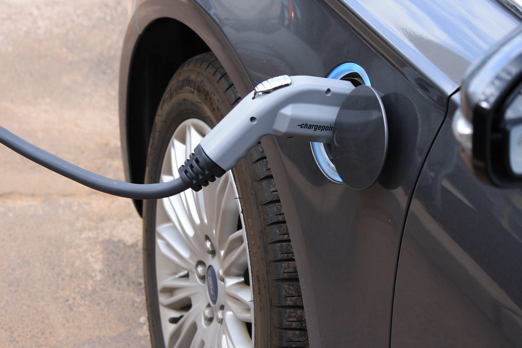 how do you charge an electric car at home