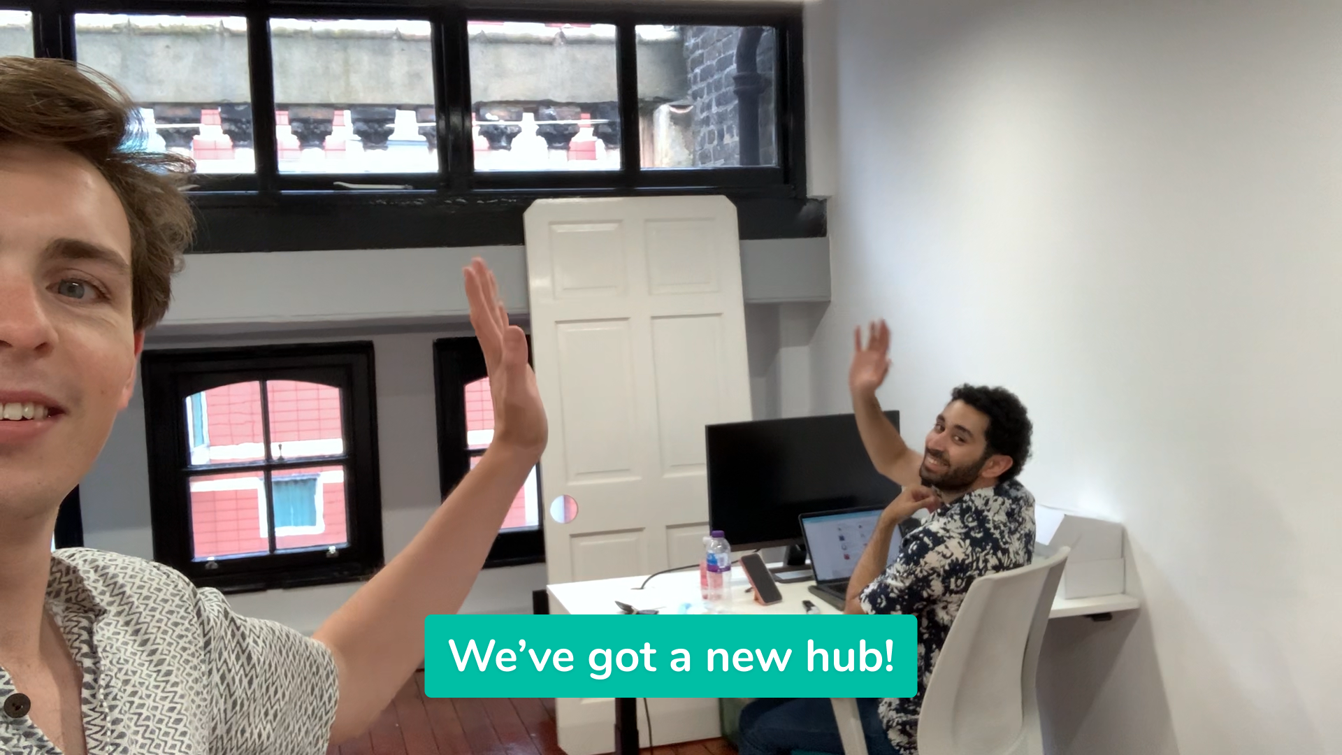Our new hub