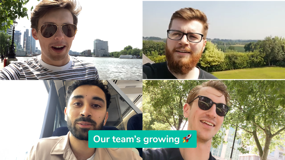 Our team's growing