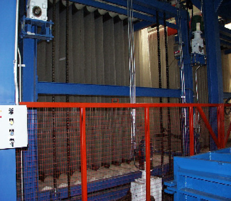 fting machine accumulator