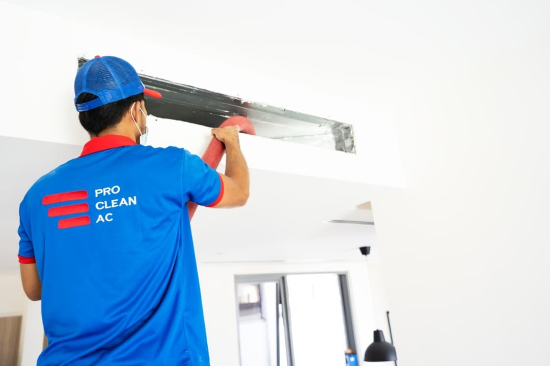 AC duct cleaning