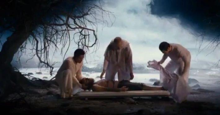 Resgate de uma alma, ainda no seu corpo etérico, no Umbral.
