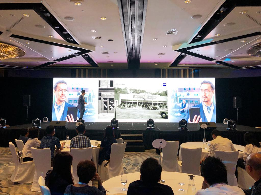 LED Wall TV Image