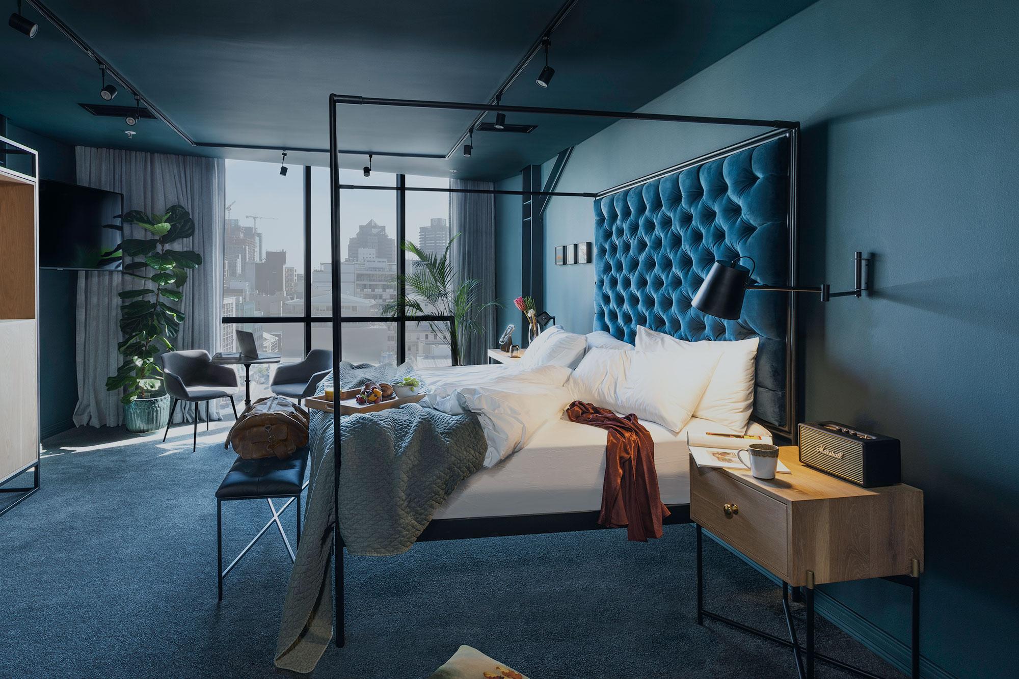 Cartel House Hotel boutique luxury bedroom