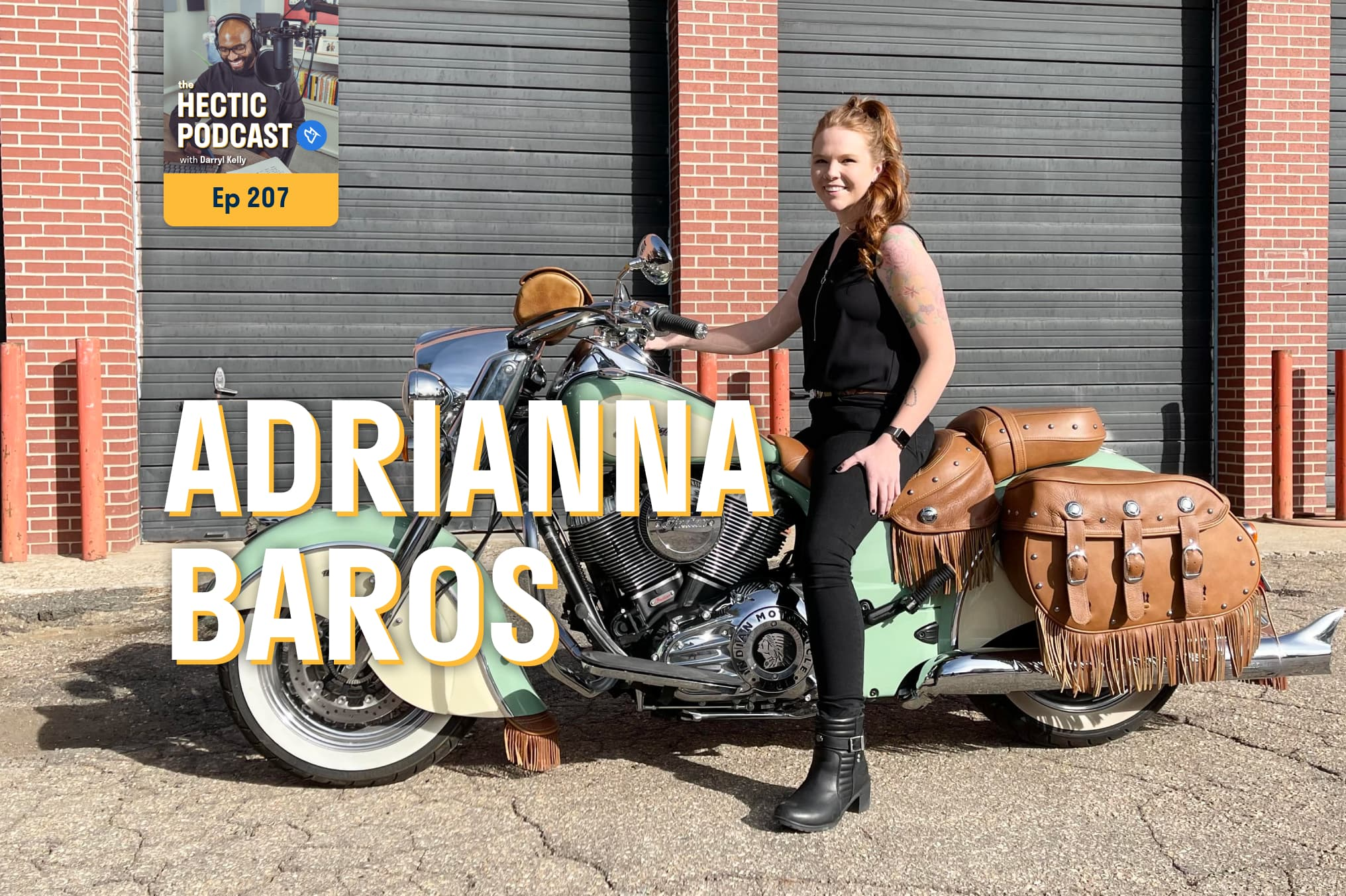 The Hectic Podcast with Adrianna Baros