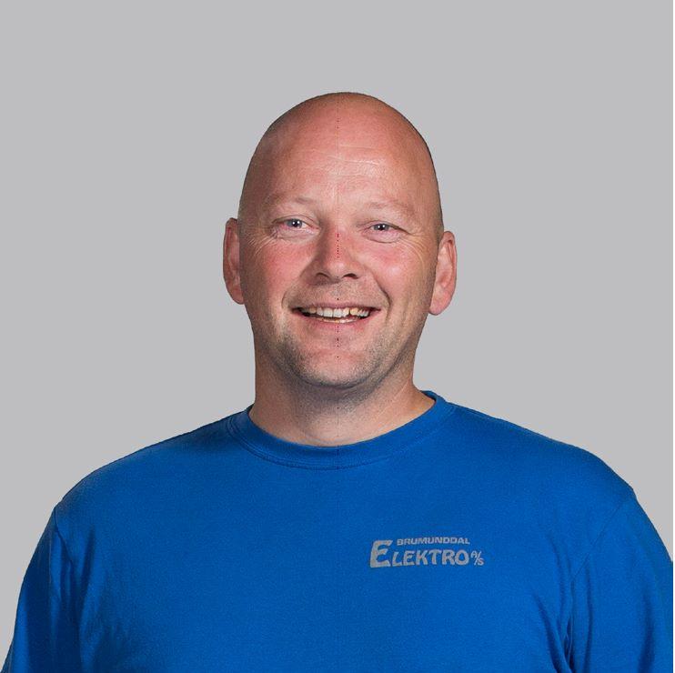 Servicesjef / Liftutleie Trond Vardeberg i Brumunddal Elektro