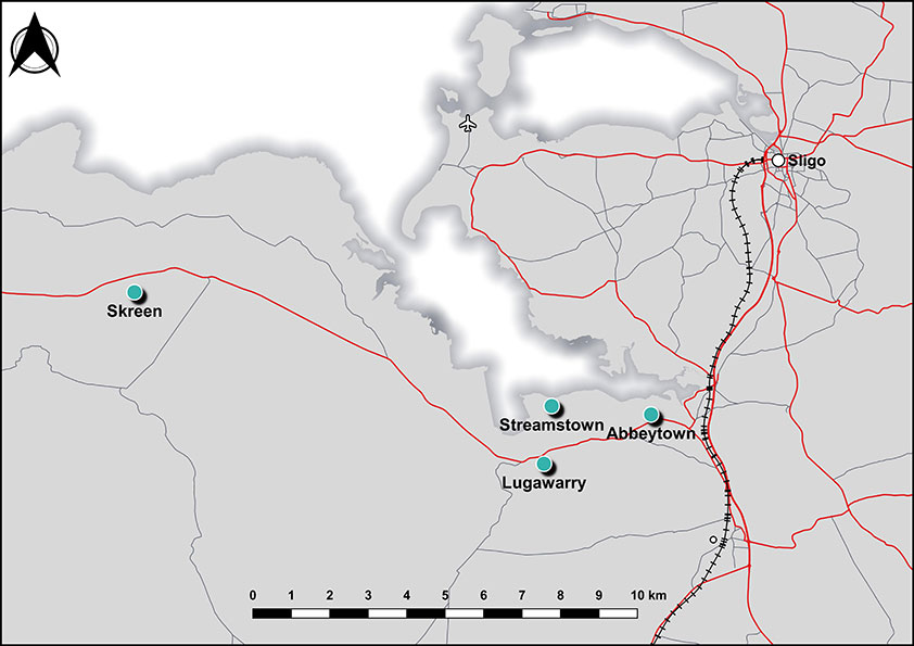 Abbeytown Map