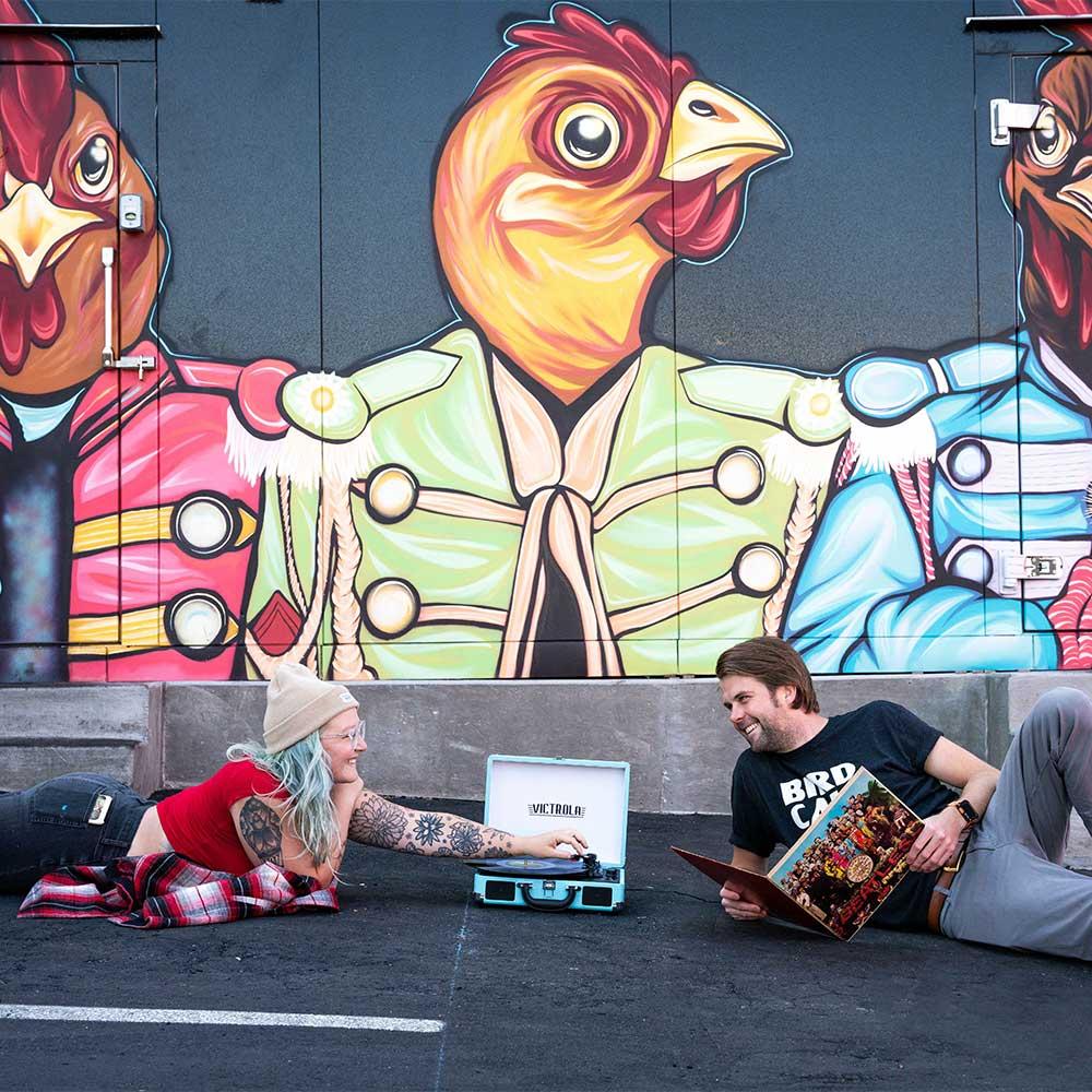 Birdcall mural