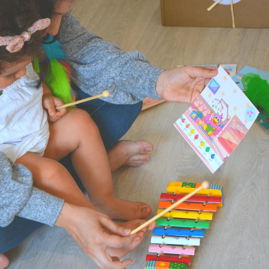 Atelier d'éveil musical avec Virtuosi Kids et les instruments