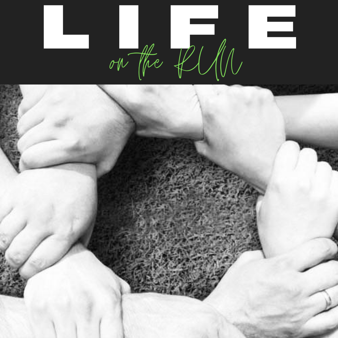 Life On The Run Podcast cover image by Phillip and Katie Tucker of Shade Tree Therapy