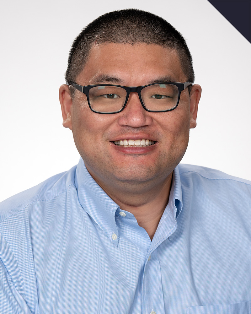 A picture of Fan Ding, the Director of Product Management for ABS | Advanced Battlestations