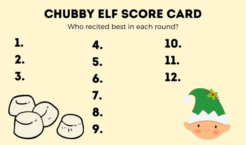 Chubby Elf game template