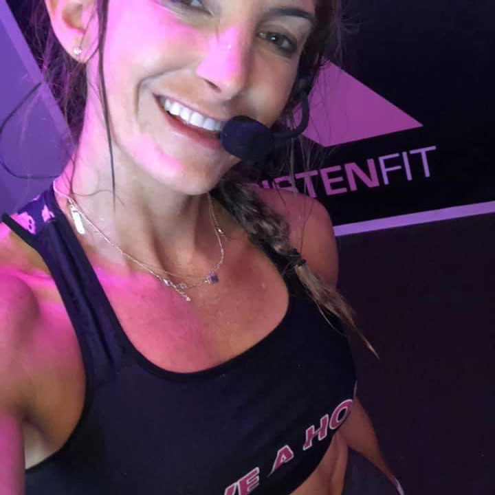 Online workout with Get Kristen Fit, personal trainer in Auburndale, MA