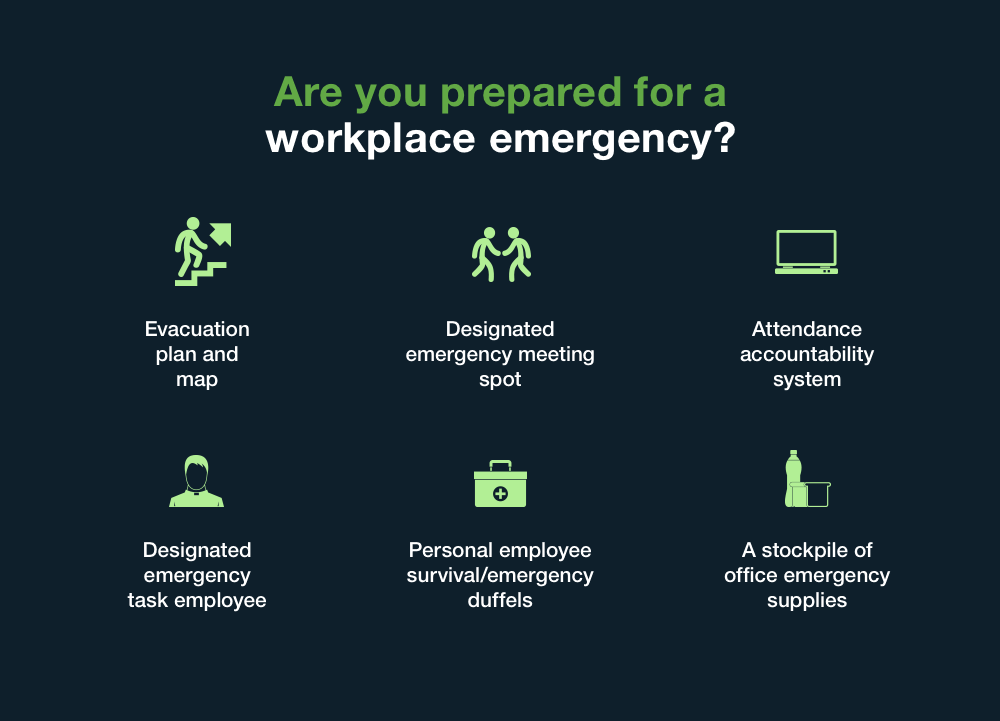 workplace disaster preparation
