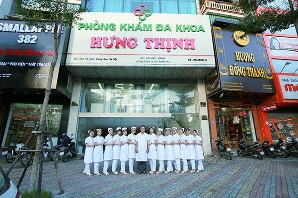 Phòng khám đa khoa Hưng Thịnh 380 Xã Đàn
