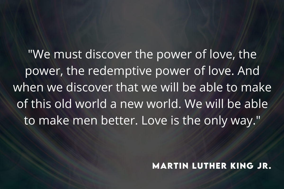 martin luther king jr quote on the power of love