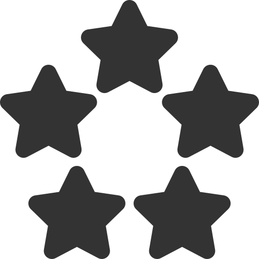 5-star icon.