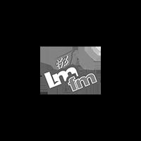 95.8 LMFM logo.