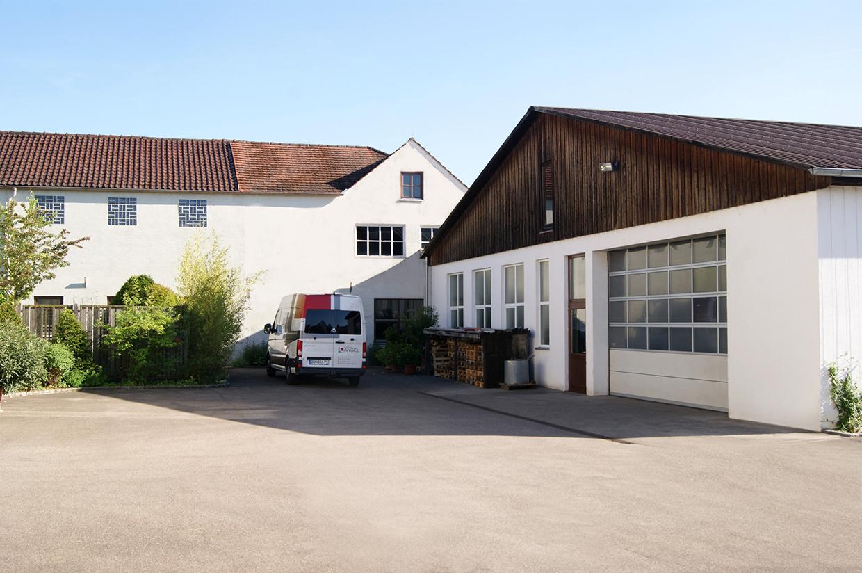 Eine weitere Produktionsstätte der Schreinerei Angel.