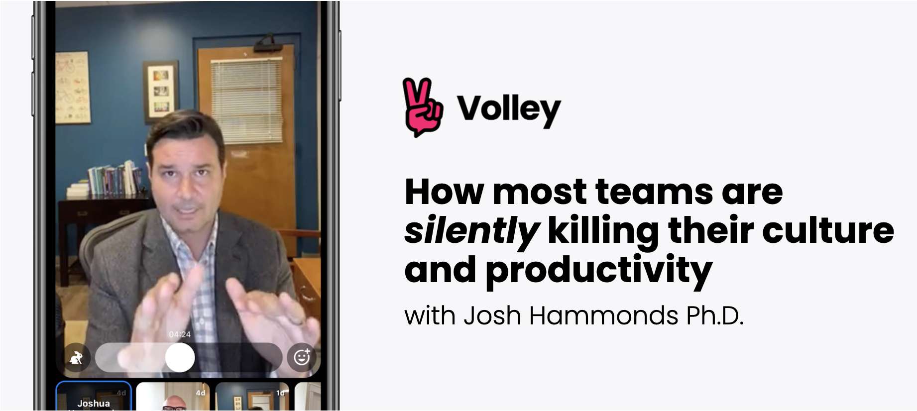 How most teams are silently killing their culture and productivity - with Josh Hammonds Ph.D.