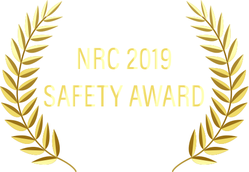 NRC 2019 Safety Award