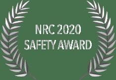 NRC 2020 Safety Award