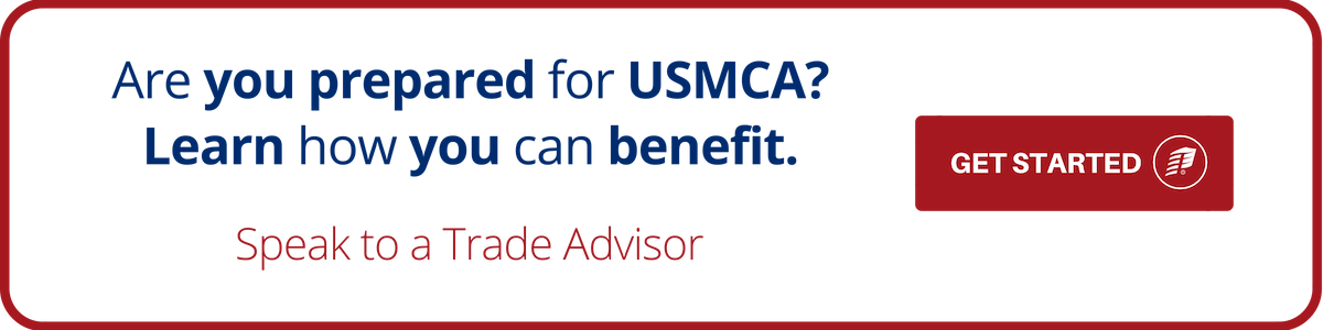 have question on USMCA