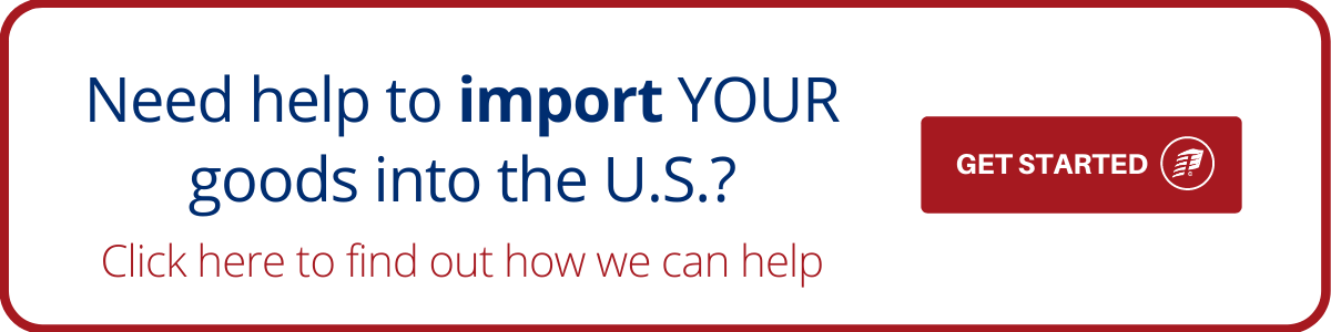 import your good into the US